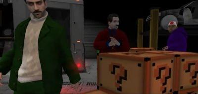 A screenshot from 'New Mario Bros. Movie Trailer - The Game Station Exclusive!' on YouTube