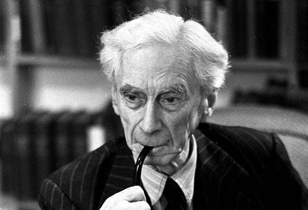 Bertrand Russell: the philosopher was bold enough to turn down an honour from the Queen