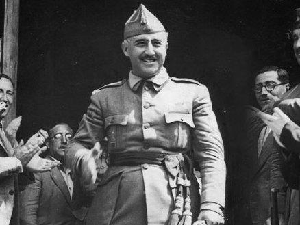 General Franco pictured in 1936