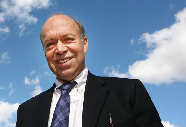 Grave warning: Climate scientist Professor James Hansen , who has spent the past 30 years advising US administrations from Jimmy Carter to George W Bush, says action must be taken now