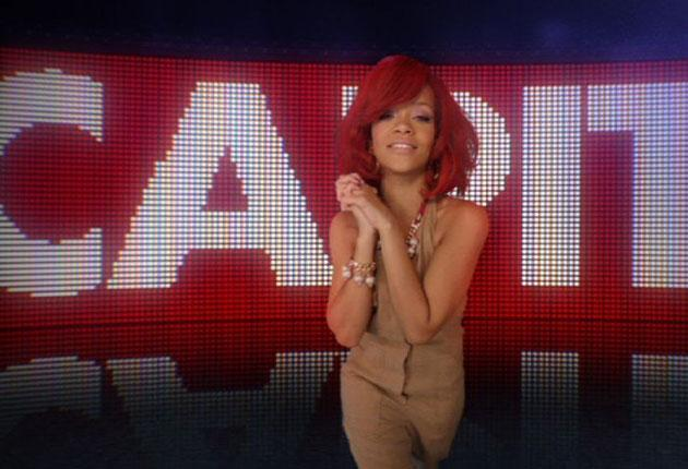 Making airwaves: Rihanna stars in Capital's new ad campaign