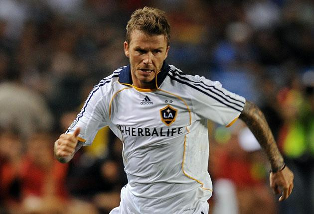 David Beckham is eager to improve his hopes of an England return