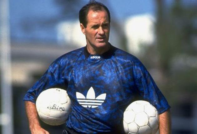 George Graham made the Arsenal team face the media after losing to Wrexham