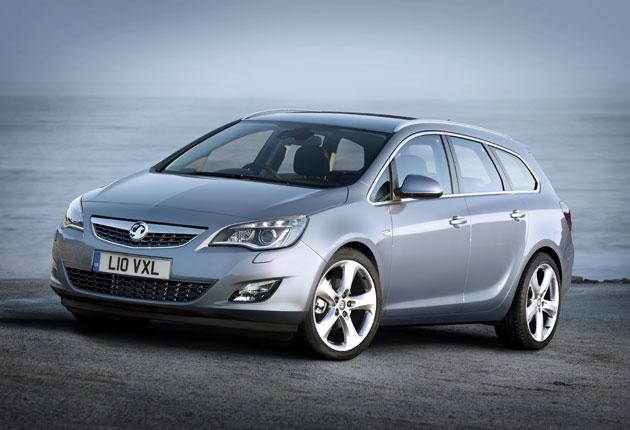 Vauxhall's new Astra Sports Tourer has plenty of storage space, but its electric parking brake is annoying