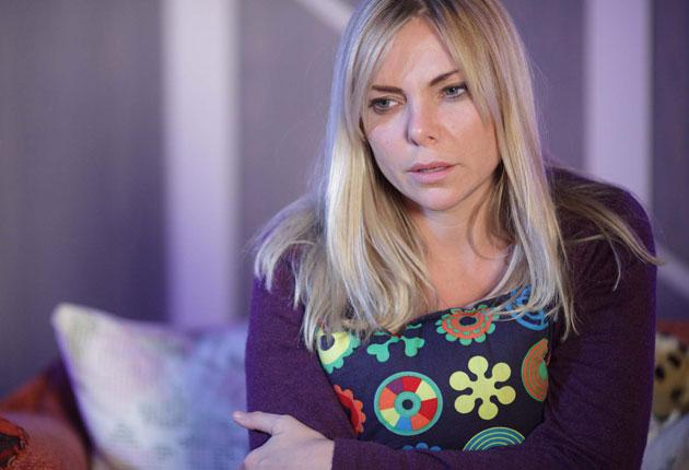 Samantha Womack as the bereaved Ronnie Branning in 'EastEnders'