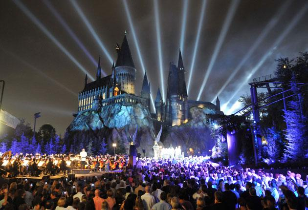 Attendance figures show that overall visitor numbers at Universal's parks have rocketed