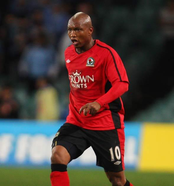 Diouf abused Mackie while he lay on the pitch with a broken leg