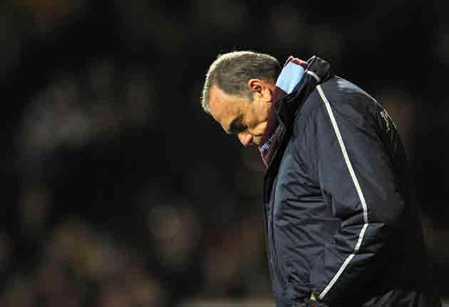 Avram Grant is under pressure but at least has a proven record for reaching cup finals