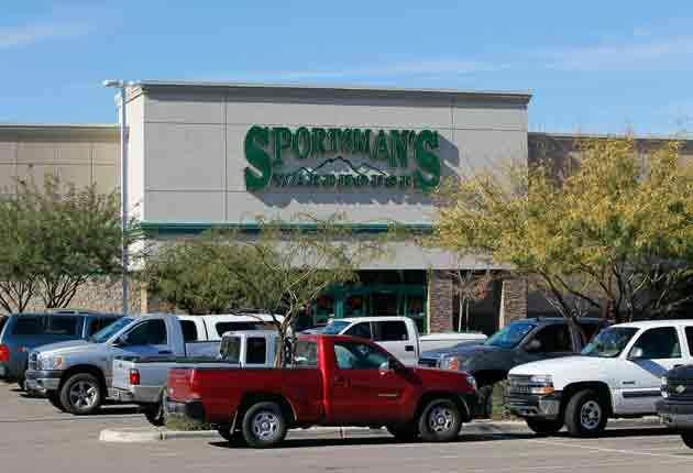 The Sportsman's Warehouse allegedly sold the gun used in the attack
