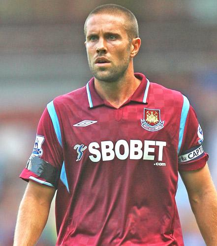Arsène Wenger is considering a move to bring Matthew Upson (above) back to the club he joined aged 18 before leaving in search of regular first-team action