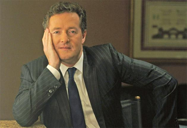 Piers Morgan's guests on his new show will include George Clooney, Condoleezza Rice and Ricky Gervais