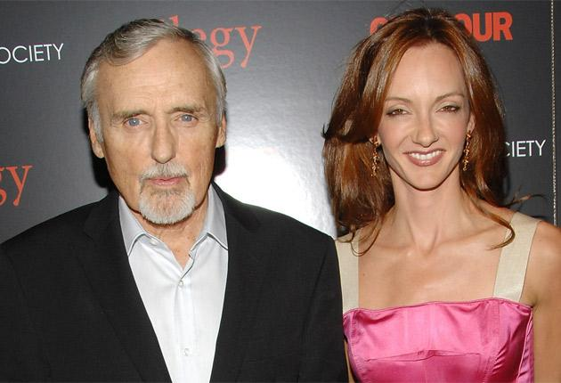 Dennis Hopper's divorce from his fifth wife Victoria Duffy had not been finalised before his death in May last year