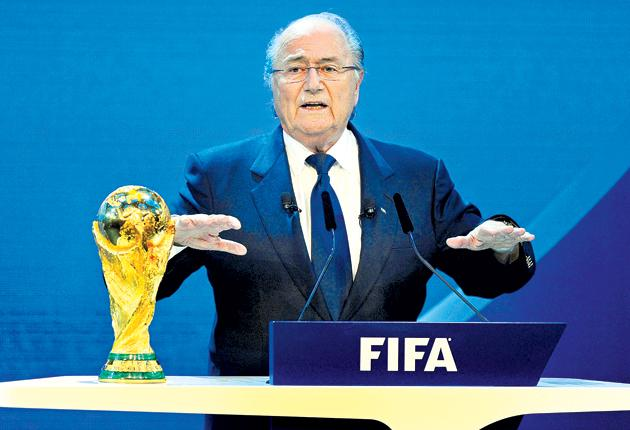 Fifa president Sepp Blatter has caused controversy with his comments about the 2022 World Cup in Qatar