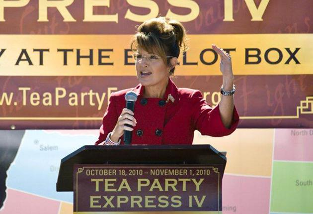 Sarah Palin denied her actions had inspired the man accused of carrying out the Tucson shootings