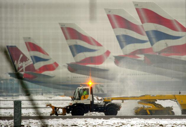 Airport delays: Several insurers will now pay out for holidays disrupted by snow fall