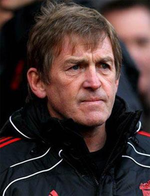 Dalglish was relieved as Kuyt's penalty earned a 2-2 draw in the Merseyside derby