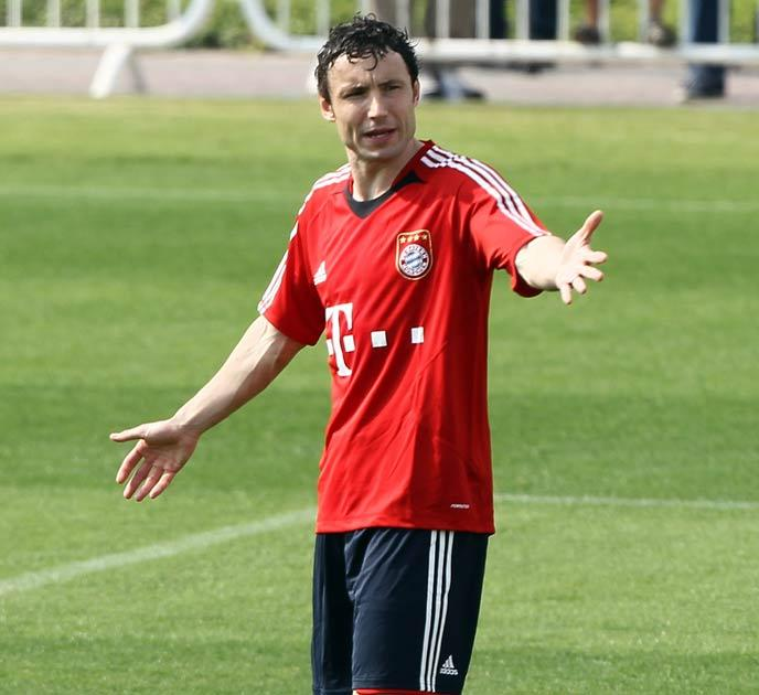 Mark van Bommel is the captain of Bayern