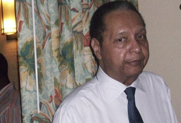 Former Haitian dictator Jean-Claude 'Baby Doc' Duvalier