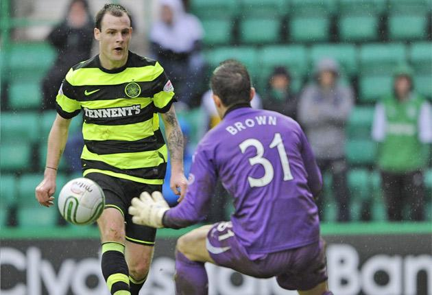 The Celtic striker's goal against Hibernian on Saturday was his first from open play in more than two months