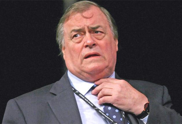 Former Deputy PM, John Presscot