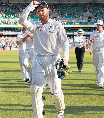 Matt Prior hopes to replicate his success with the bat in the final Ashes Test when the World Cup starts