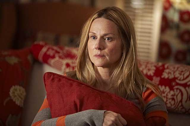Cushioning the blow: in 'The Big C', Laura Linney's character hides her cancer diagnosis from her family