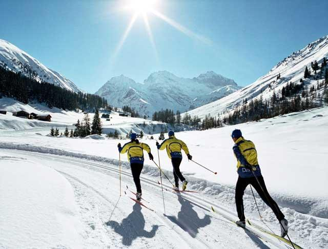 Step by step: Cross-country skis take some getting used to