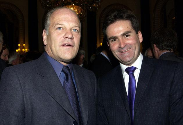 Sky Sports presenters Andy Gray and Richard Keys