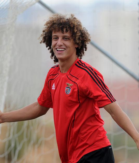 David Luiz has impressed both at centre-half and at left-back for Benfica