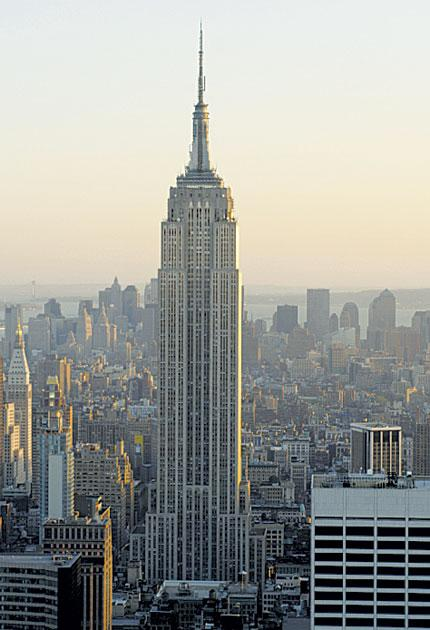 Sky high: the cost of flights from the UK to New York can soar at any time of year