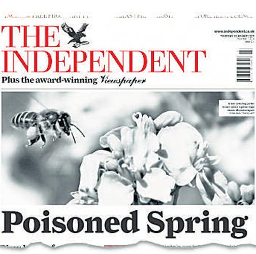 How 'The Independent' broke the story about neonicotinoids last week