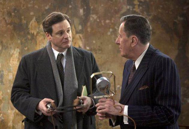 Martin Stephen's story is similar to that of King George VI (Colin Firth), helped by Lionel Logue (Geoffrey Rush) in 'The King's Speech'