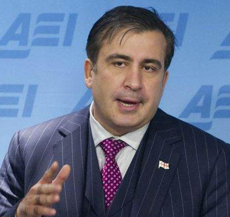 Mr Saakashvili said Russia's mentality was reptilian and called it 'a crocodile ready to swallow you up'