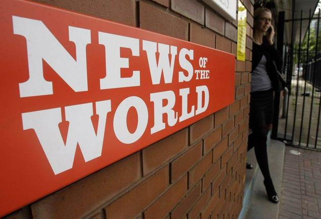 The News of the World yesterday fired senior executive Ian Edmondson after an internal investigation into phone hacking