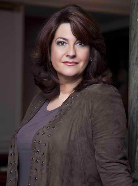 Tough call: Soprano Claire Rutter stars in the title role in Donizetti's Lucrezia Borgia at the ENO on Monday