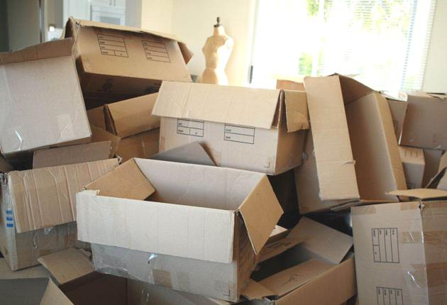 Moving on up: Clearly labelled boxes will help a move go smoothly