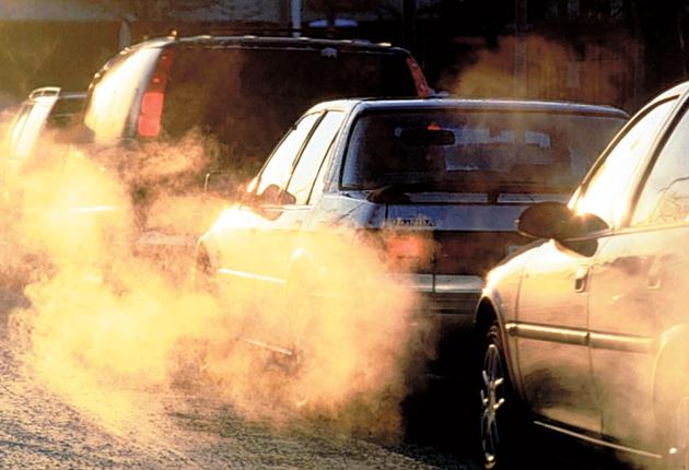 London's heavy traffic creates high levels of dust pollution