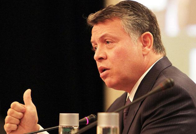 Jordan's King Abdullah II has promised reforms