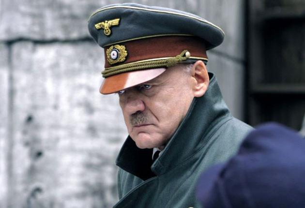 Bruno Ganz as Hitler in Eichinger's production of 'Downfall'