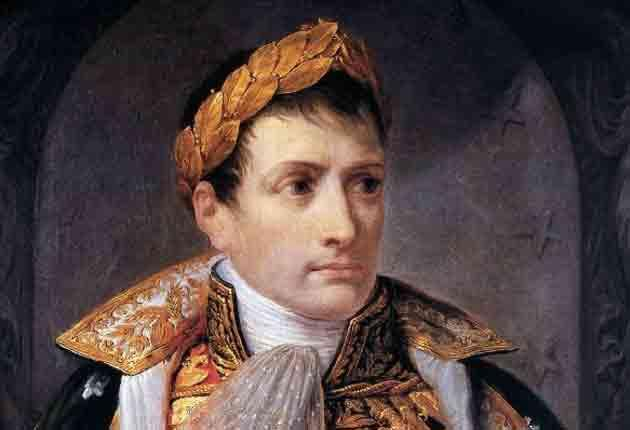Appiani's portrayal of Napoleon as the King of Italy now resides in Beirut