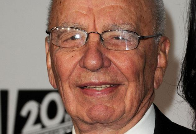 Rupert Murdoch seems angry, and on Friday was also reported to be 'depressed'