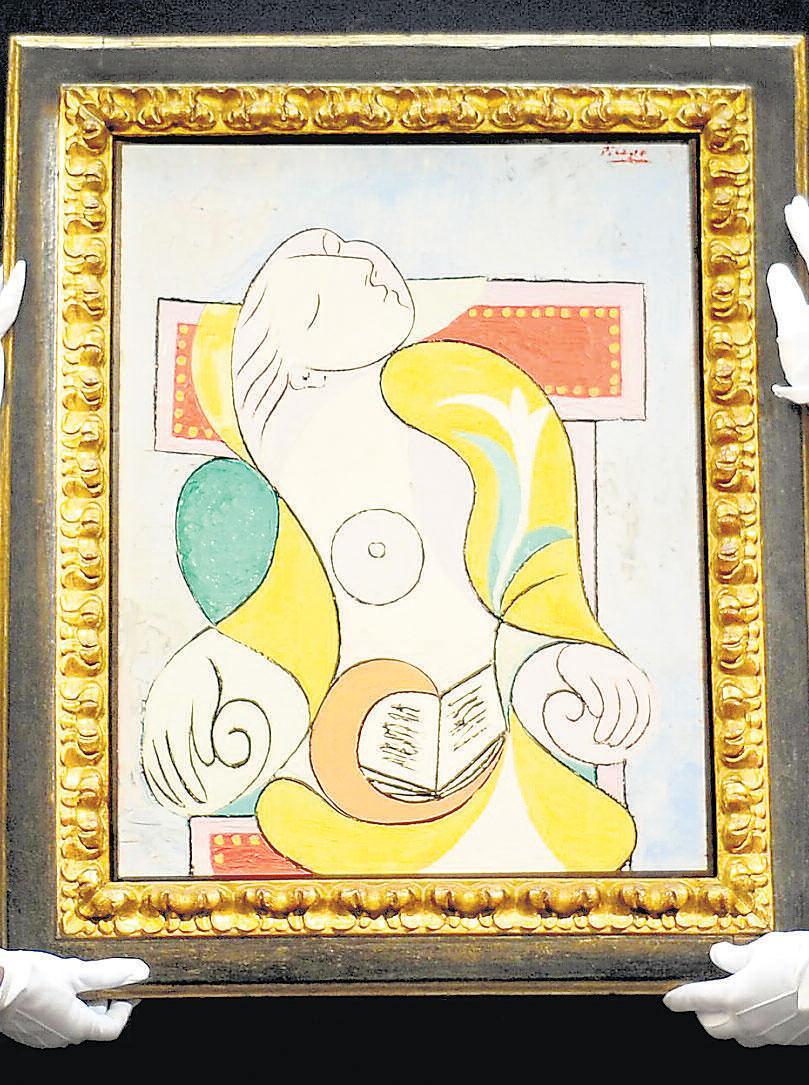 Picasso's portrait of Marie-Thérèse