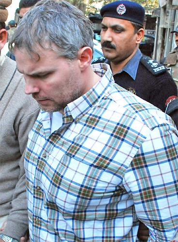 American consulate worker Raymond Davis was arrested for killing two men in Lahore