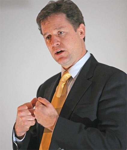 A source close to Nick Clegg said he was 'absolutely furious' when he found out about the 11-year-old girl's detention by UKBA