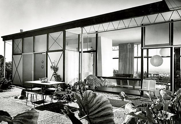 Let there be light: Grossman was famous for designing homes for Hollywood's stars