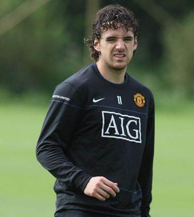 Owen Hargreaves has been omitted from United's Champions League squad