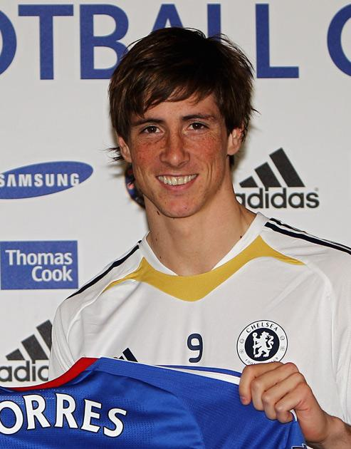 Torres moved in a deal worth £50m