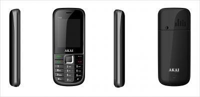 AKAI India's first triple SIM mobile phone, the Trio