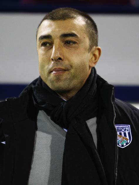 <b>February 6 - Roberto Di Matteo (West Brom)</b><br/> A 3-0 defeat to Manchester City was the last straw for the West Brom hierarchy, a result that meant the Baggies had lost 13 games in 18 matches. The Italian's dismissal came as a surprise, having led