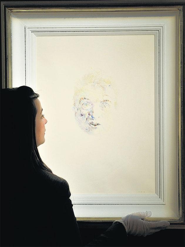 Image of Francis Bacon No 18, by Louis le Brocquy